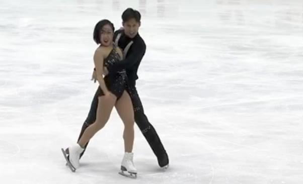 Китайская пара Суй/Хань, обновив мировой рекорд, выиграла короткую программу на 6-м этапе Гран-при 2019 по фигурному катанию