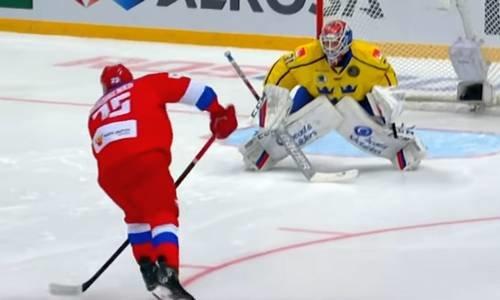 Хоккей, Россия-Швеция