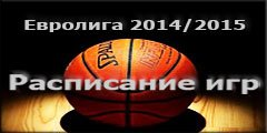 Расписание матчей группового этапа Лиги Чемпионов 2014/2015