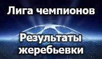 Результаты жеребьевки Лиги Чемпионов 2014/2015