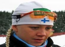 Биатлонистка Кайса Мякяряйнен