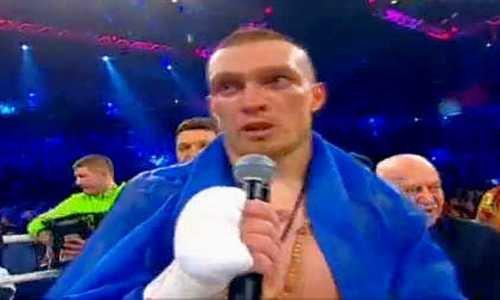 Усик нокаутировал Мюллера изащитил титул