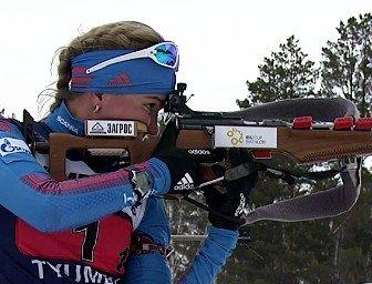 биатлон,Виктория Сливко