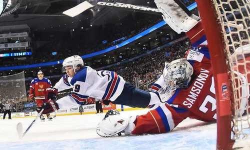 хоккей,Россия-США