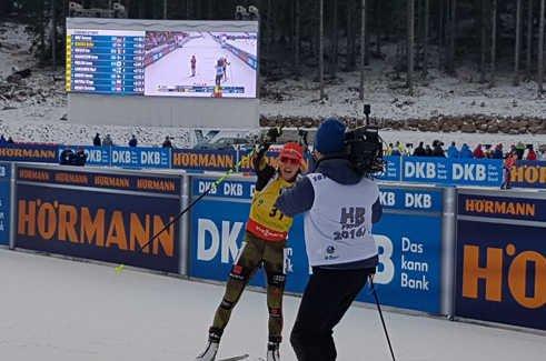 Дальмайер выиграла спринт на2 этапе КМ, Подчуфарова-13-я