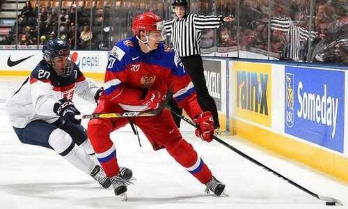 хоккей, Россия-Словакия