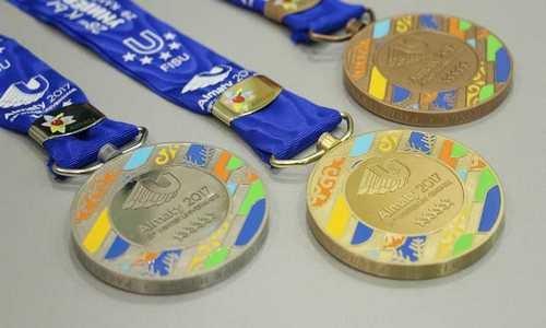 Универсиада 2017, медали