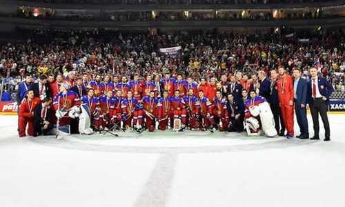Сборная Швеции стала чемпионом мира похоккею